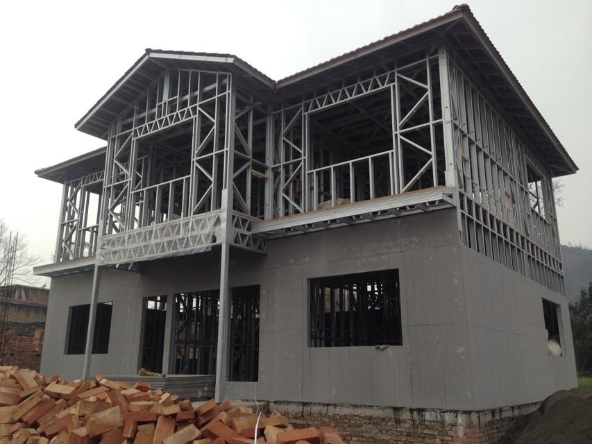 结构和外装施工_重庆渝珠钢结构工程有限公司