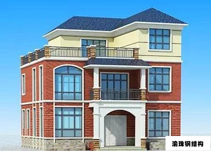 二层轻钢别墅_重庆渝珠钢结构工程有限公司
